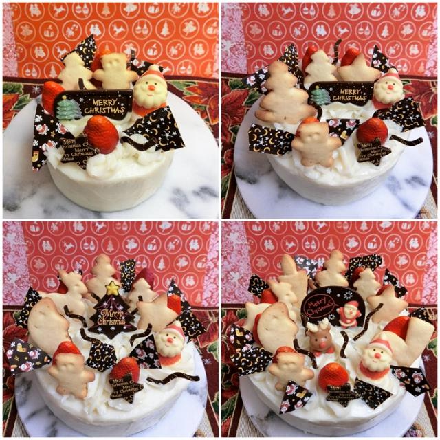 Xmasホールデコレーションケーキ♪(●^o^●)